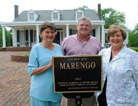 Marengo Dedication as Town Hall